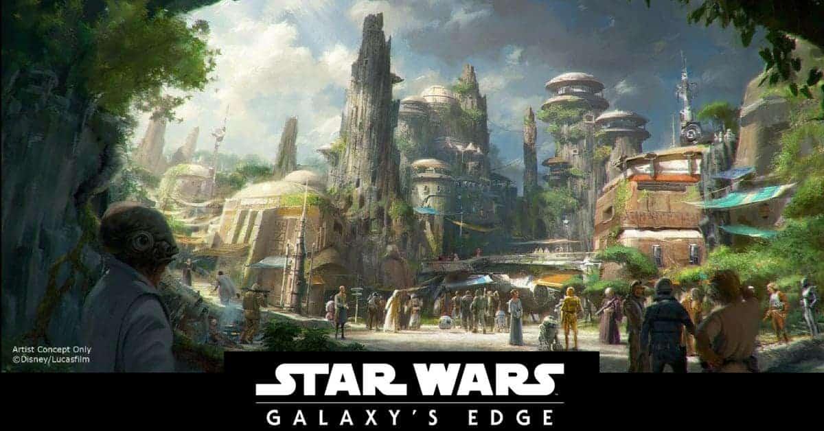 Star Wars Land in Disney World