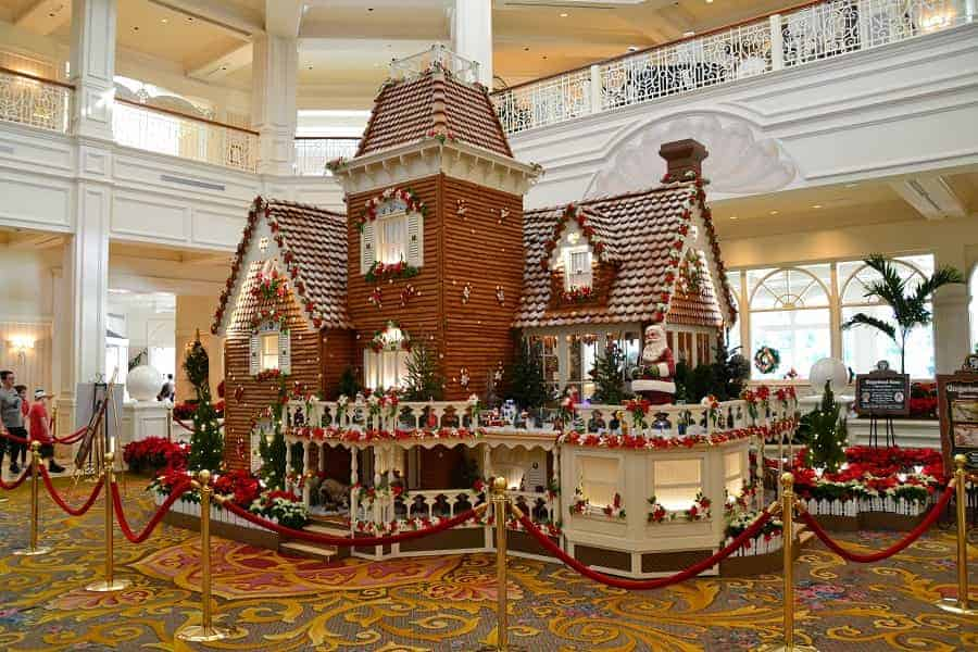 Gingerbread House in Grand Floridian Resort at Disney