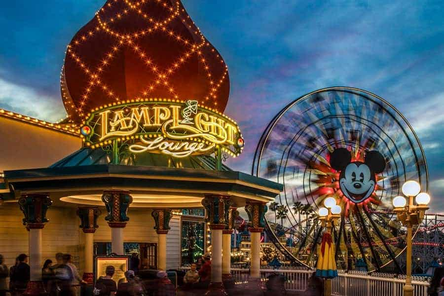 Lamplight Lounge in Disneyland California Adventure