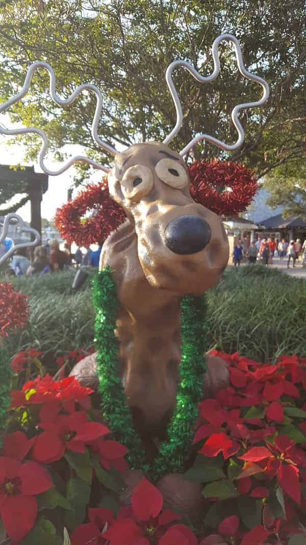 Peanut Reindeer at Disney Springs