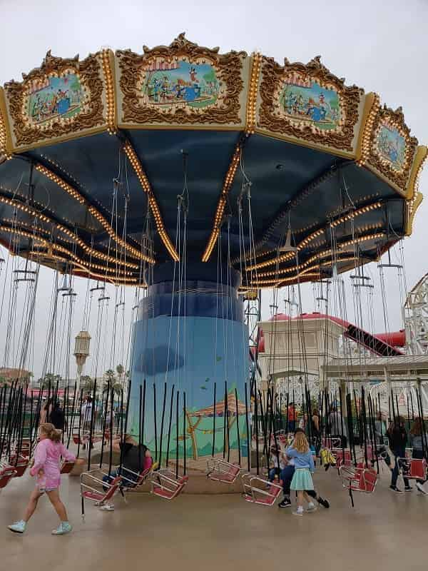 Pixar Pier Symphony Swings