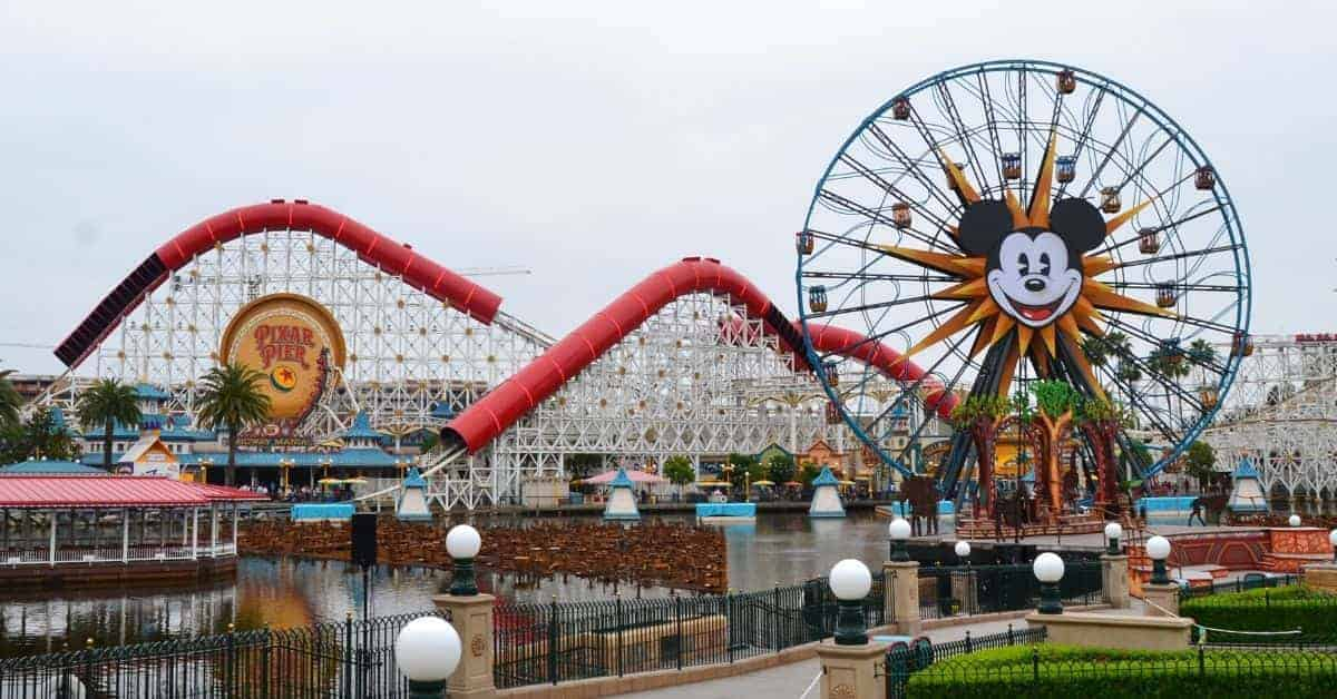 Pixar Pier Rides at Disneyland