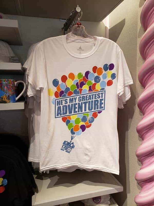 Up T-shirt at Pixar Pier
