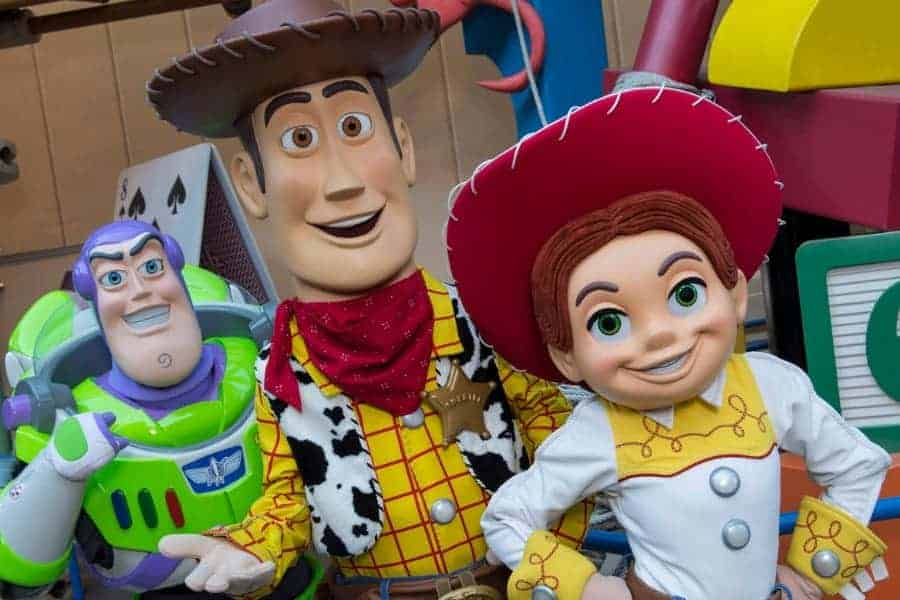 Characters you can meet at Toy Story Land