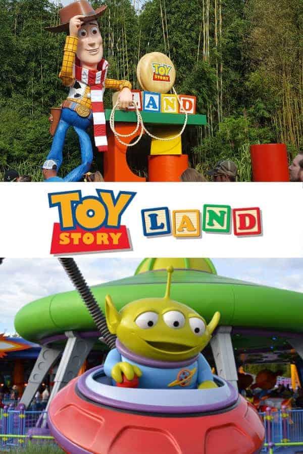 Walk Through Toy Story Land