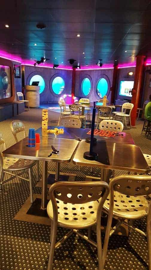 Club Edge on Disney Wonder Ship