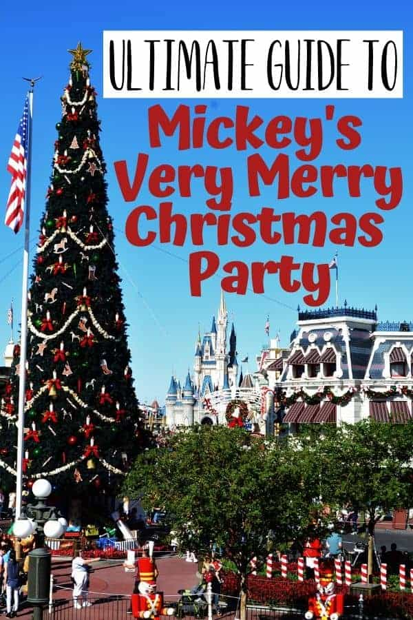 Guide to Mickey's Very Merry Christmas Party (Tips & More)