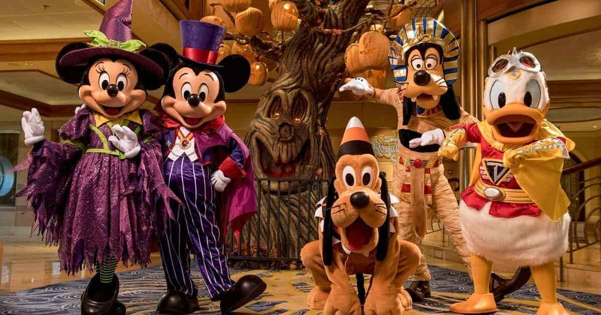 What its like on a Disney Halloween Cruise