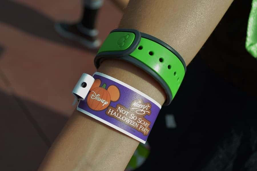 Mickey's Not So Scary Halloween Party Wrist Band