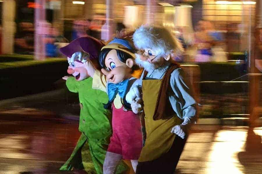 Halloween Parade at Disney