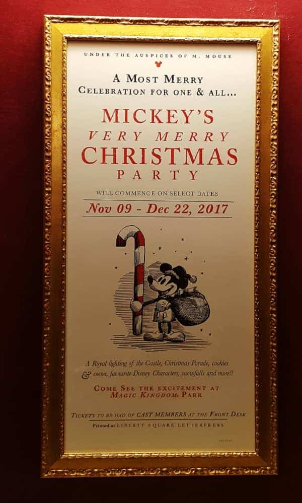 Mickey's Christmas Party Tips