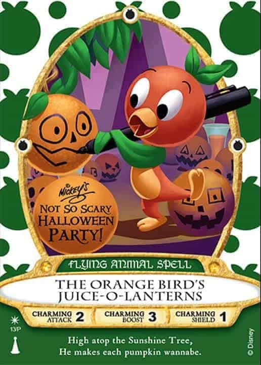Orange Bird Sorcerers of Magic Kingdom Card