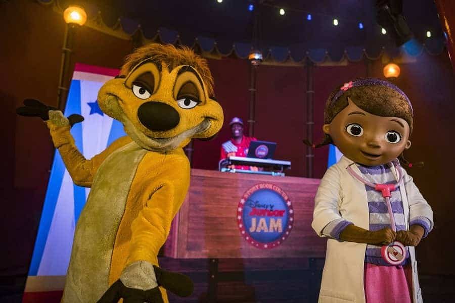 he all-new Storybook Circus Disney Junior Jam.