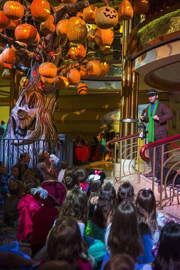 Disney Halloween Cruise Storytime
