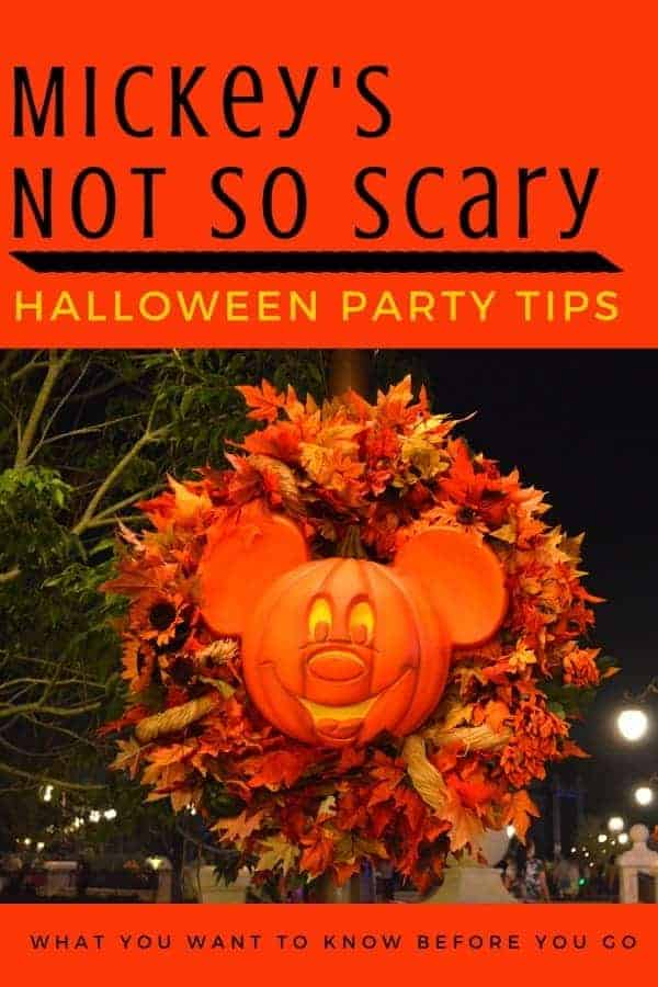 Our BEST Mickey's Not So Scary Halloween Party tips