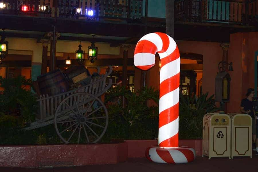 Disney Christmas Party Treat Stops