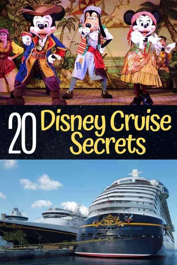 20 Disney Cruise Secrets
