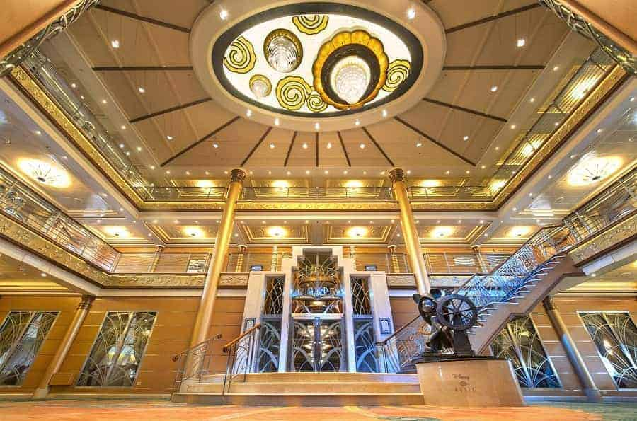 Disney Magic Art Deco Atrium