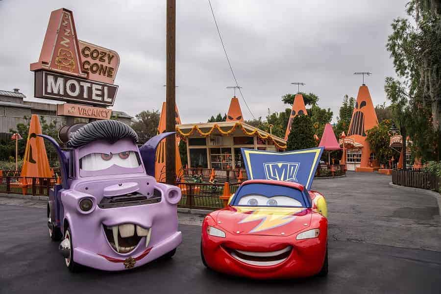 Radiator Springs turns into Radiator Screams for Halloween