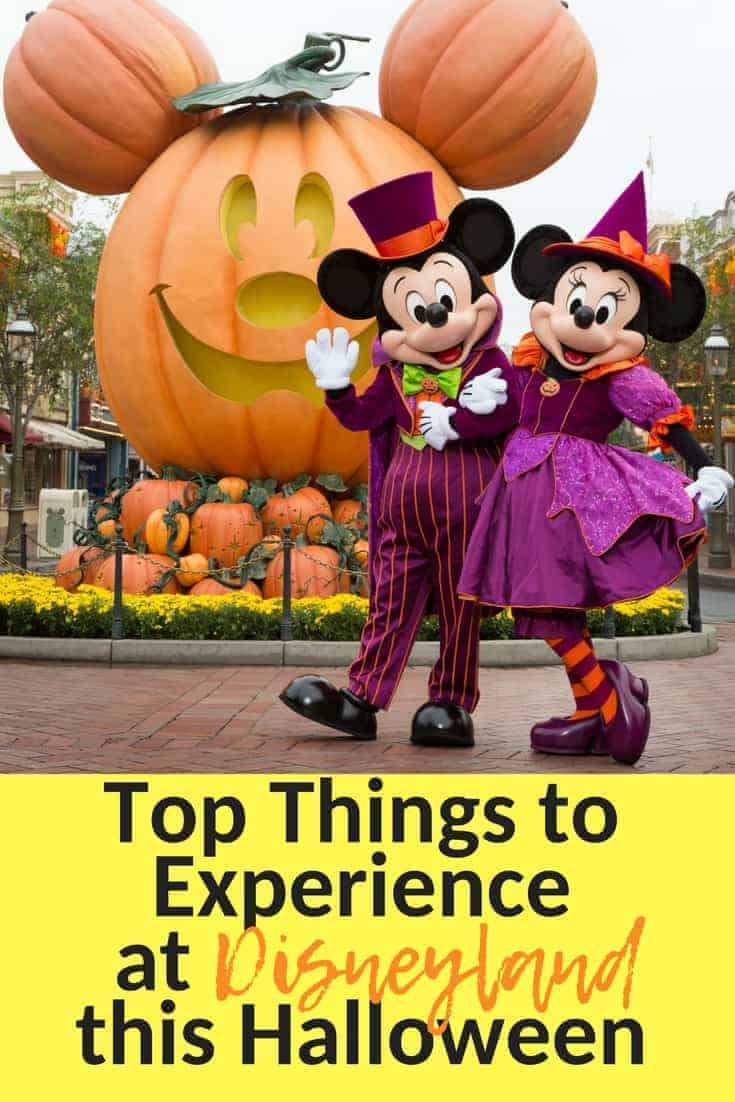 Things to Experience at Disneyland's Halloween Time