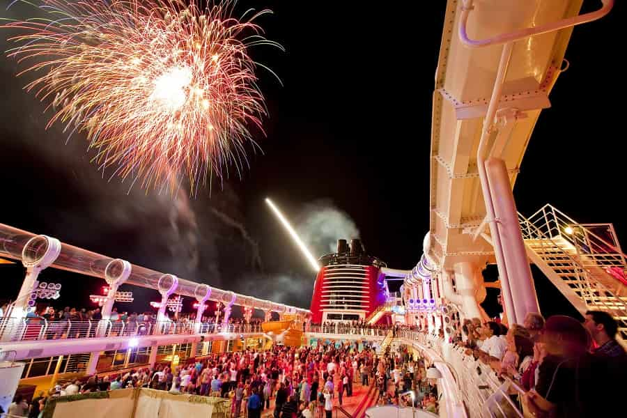 Disney Cruise Line Fireworks at Sea