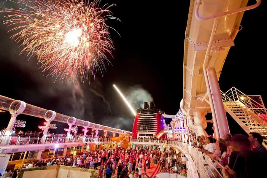 Disney Cruise Line Fireworks at Sea