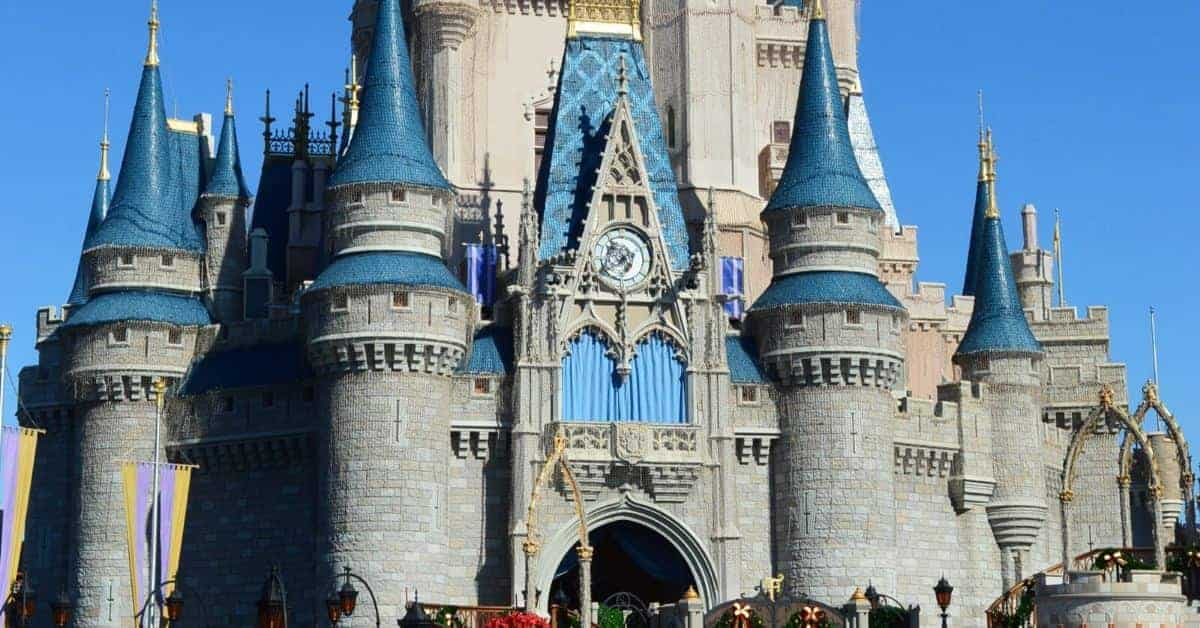 Going inside Cinderella Castle