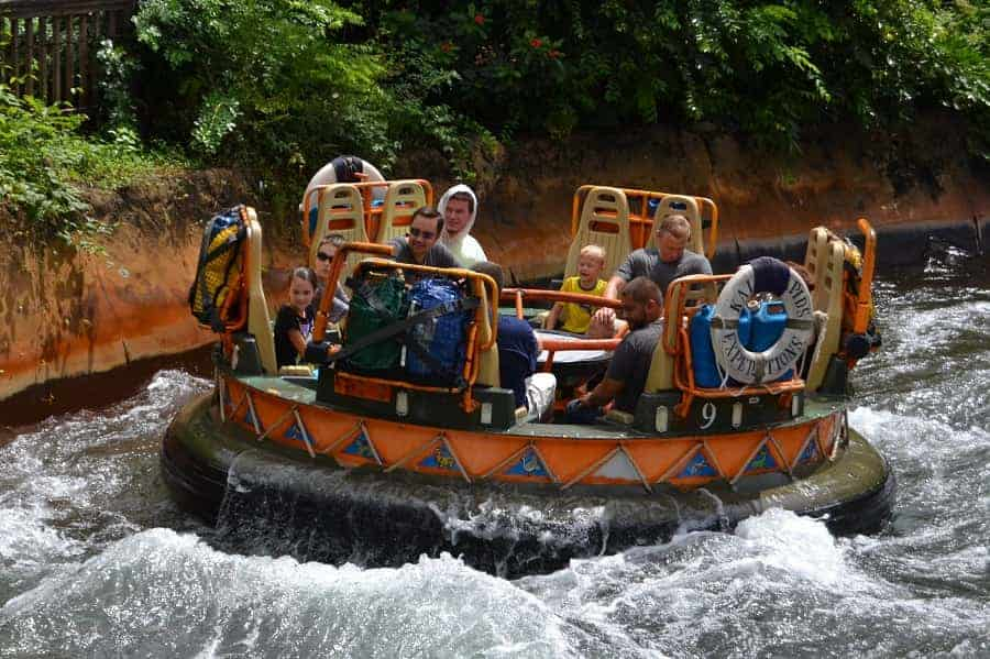 Kali River Rapids in Animal Kingdom