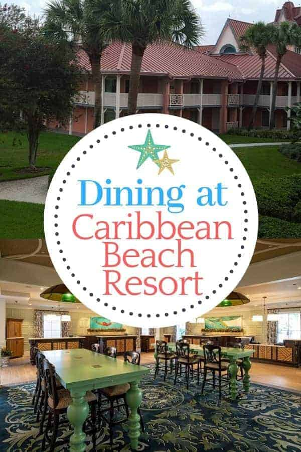 Dining Options at Caribbean Beach Resort
