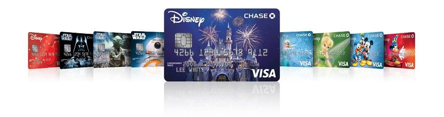 Disney Chase Visa Card Designs