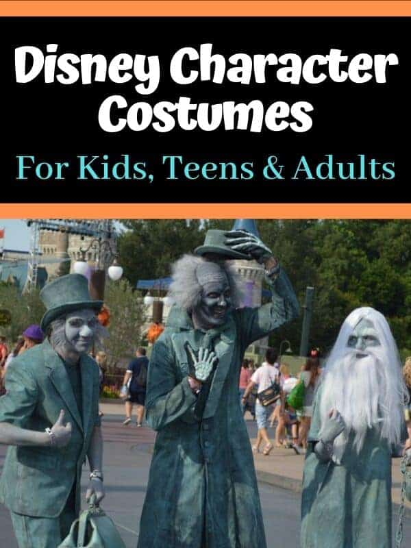 Our List of Top Disney Character Costumes for Kids, Teens & Adults