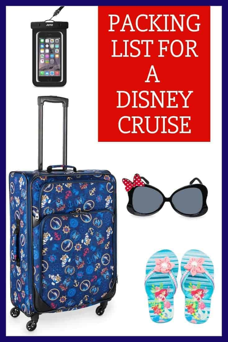 Disney Cruise Packing List & Tips
