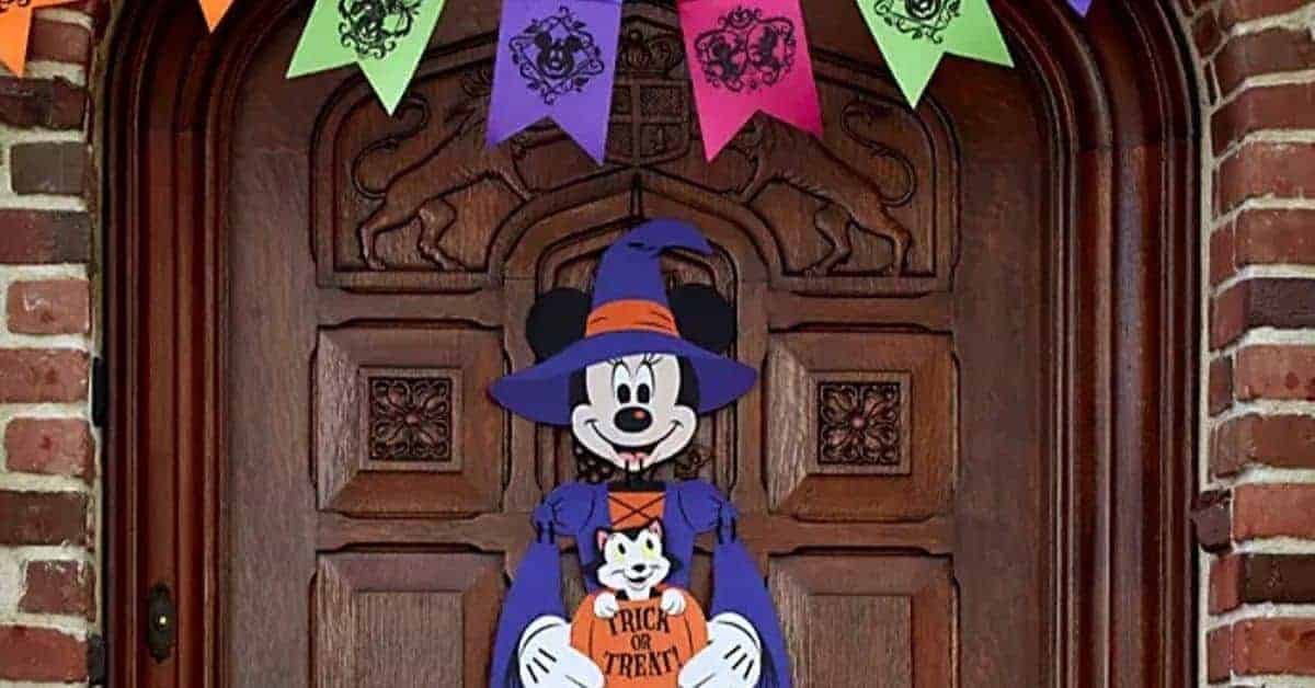 Top Disney Themed Halloween Decor