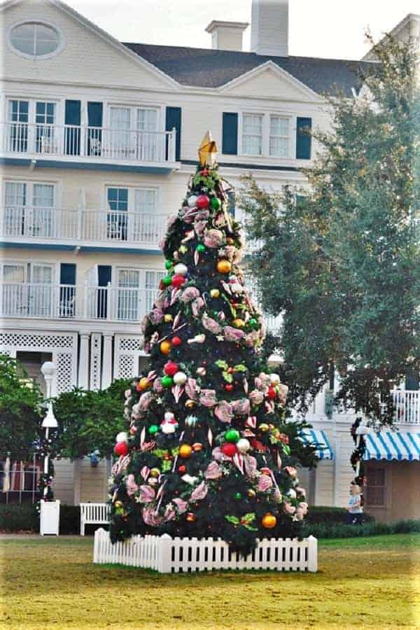 Disney Boardwalk Resort at Christmas