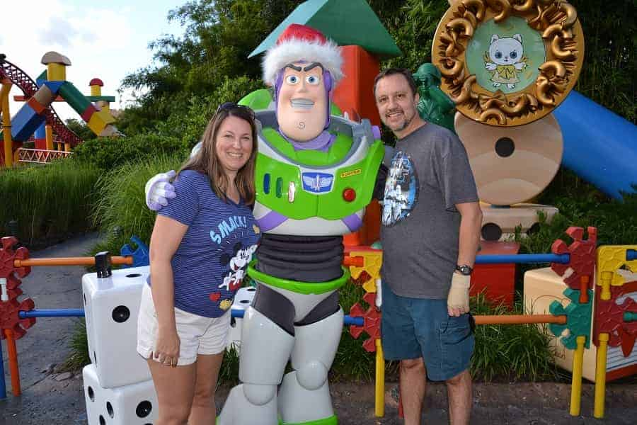 Christmas Buzz Lightyear