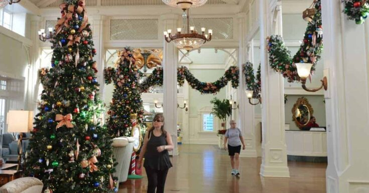 Disney Resort Christmas Decorations