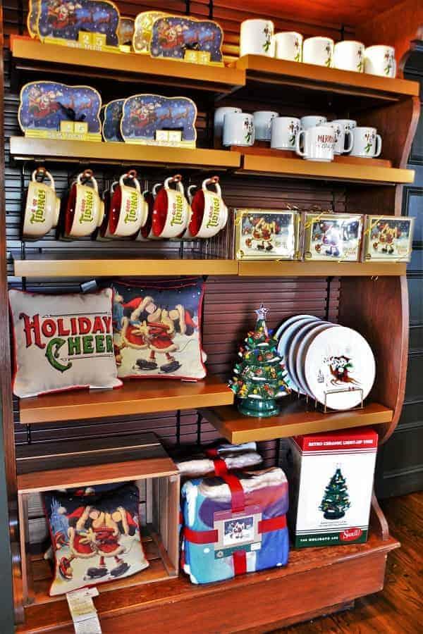 Disney Themed Christmas home decor at Magic Kingdom