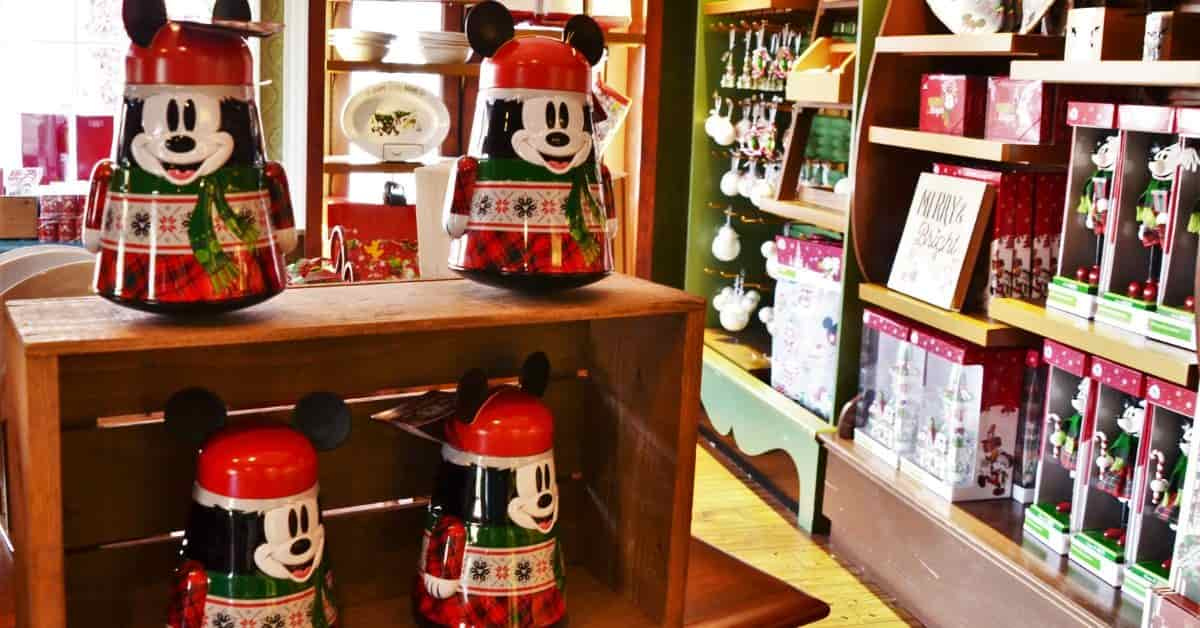 Christmas Store in Magic Kingdom