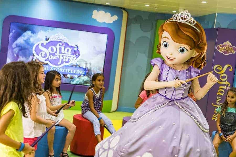 Club Disney Junior on Disney Magic Ship