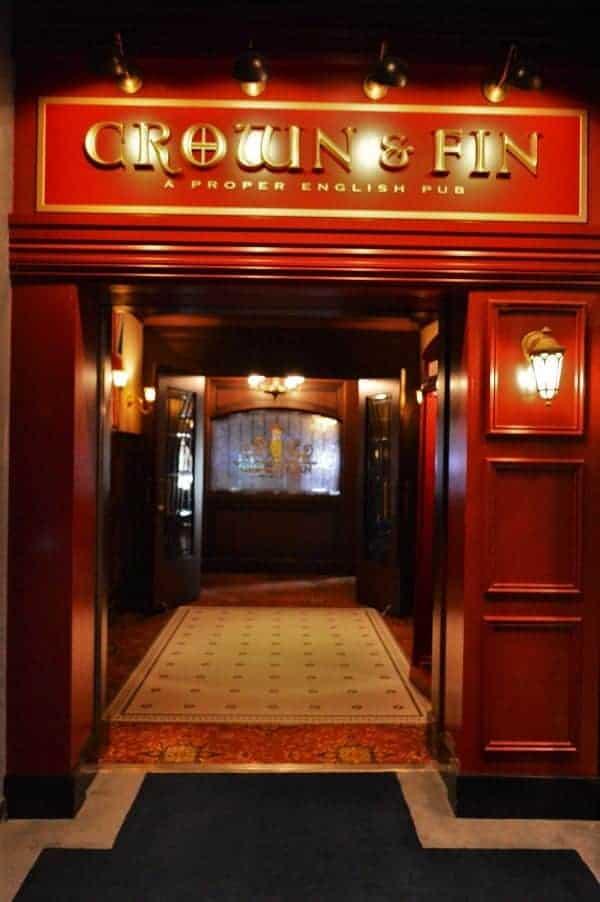 Crown & Fin Pub on the Disney Wonder