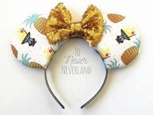 Pineapple Dole Whip Minnie Ears