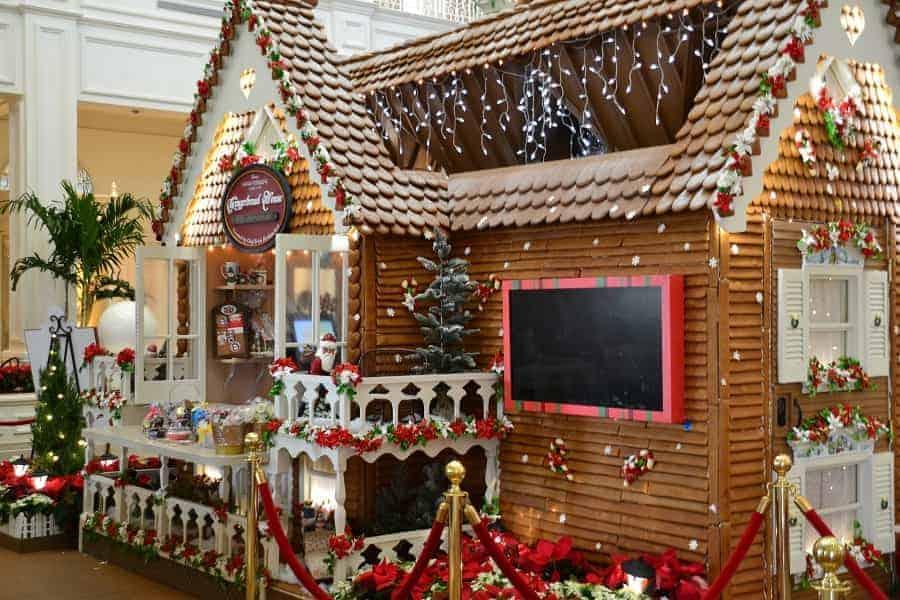 2018 Grand Floridian Gingerbread House Bake Shop