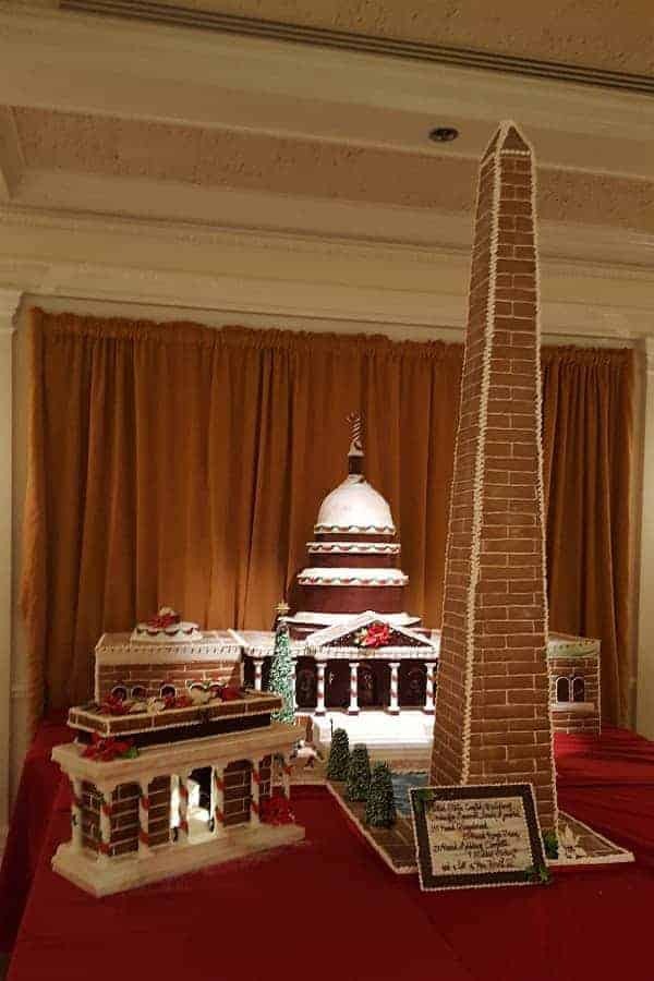 Gingerbread Capitol at Epcot