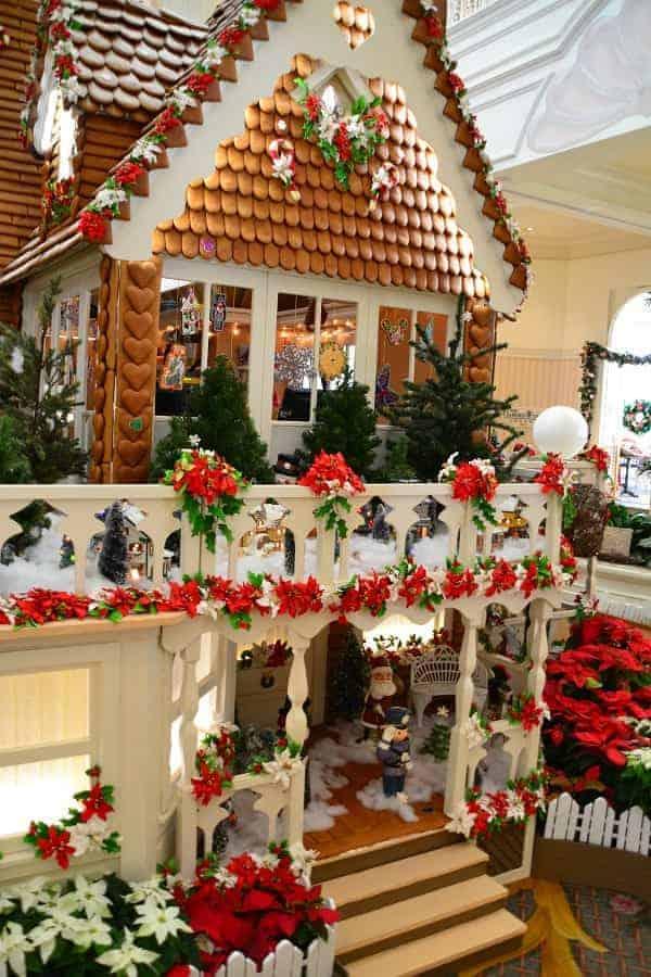Gingerbread Display at Grand Floridian Display
