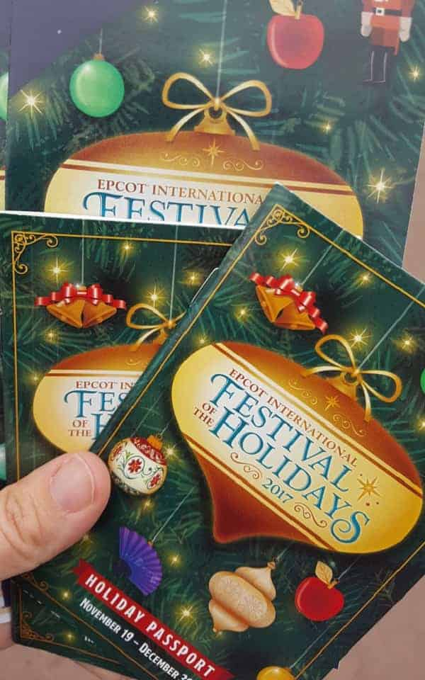 Holiday Passport at Epcot