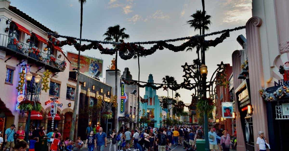 Christmas in Hollywood Studios