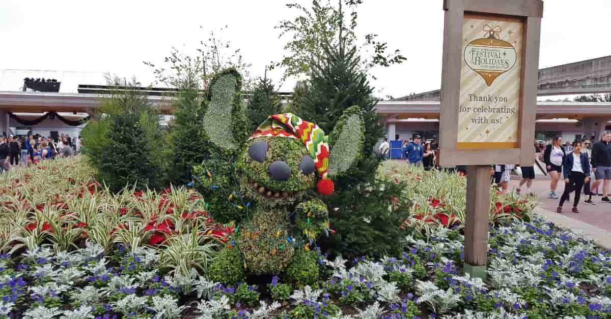 Epcot's Festival of Holidays