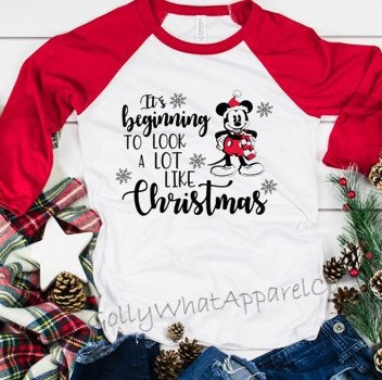 Mickey Christmas Shirts