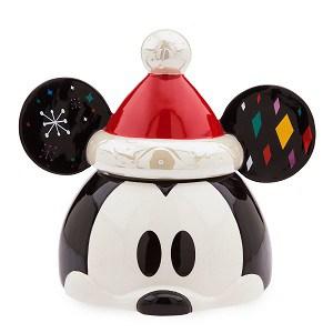Mickey Mouse Santa Cookie Jar