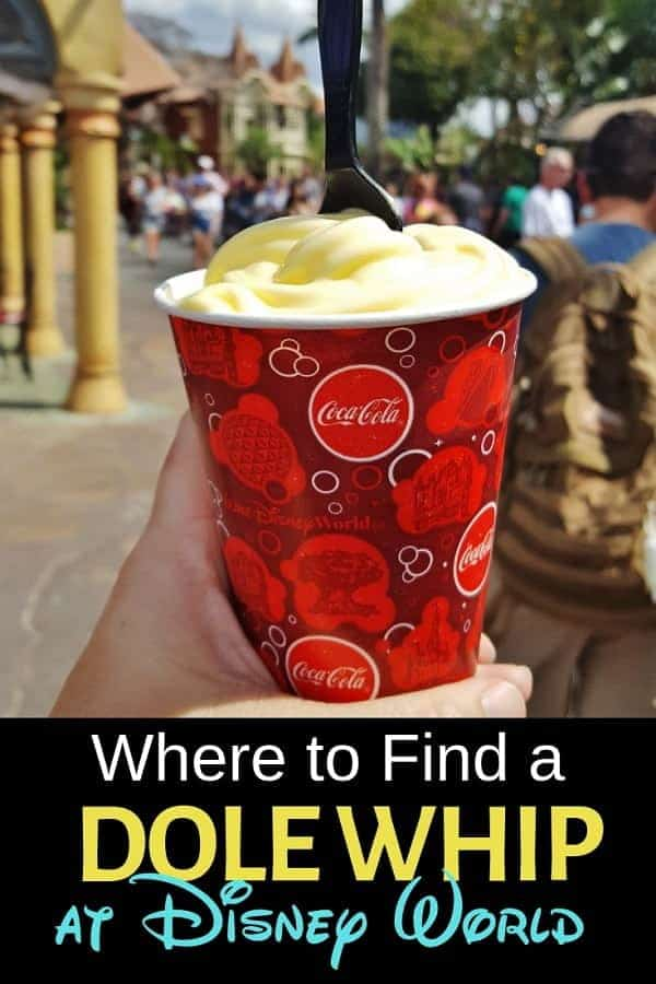 Where to Find a Pineapple Dole Whip at Disney World